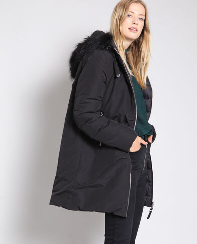 Parka Double-Face nero 625832892cb