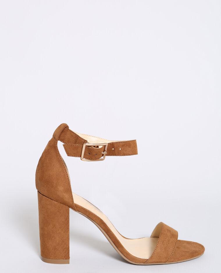 Cheaper taglia 7 le migliori scarpe Sandali con i tacchi marrone - 916413747A07   Pimkie