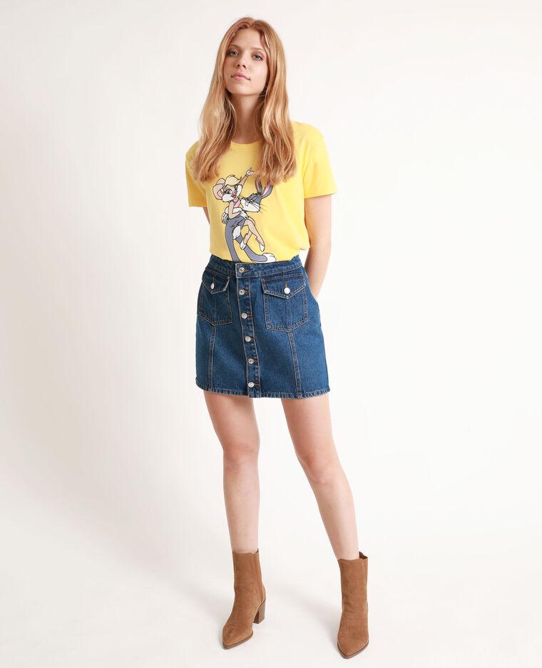 T-shirt Looney Tunes giallo