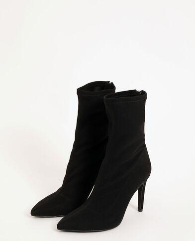 Stivali a metà polpaccio appuntiti nero