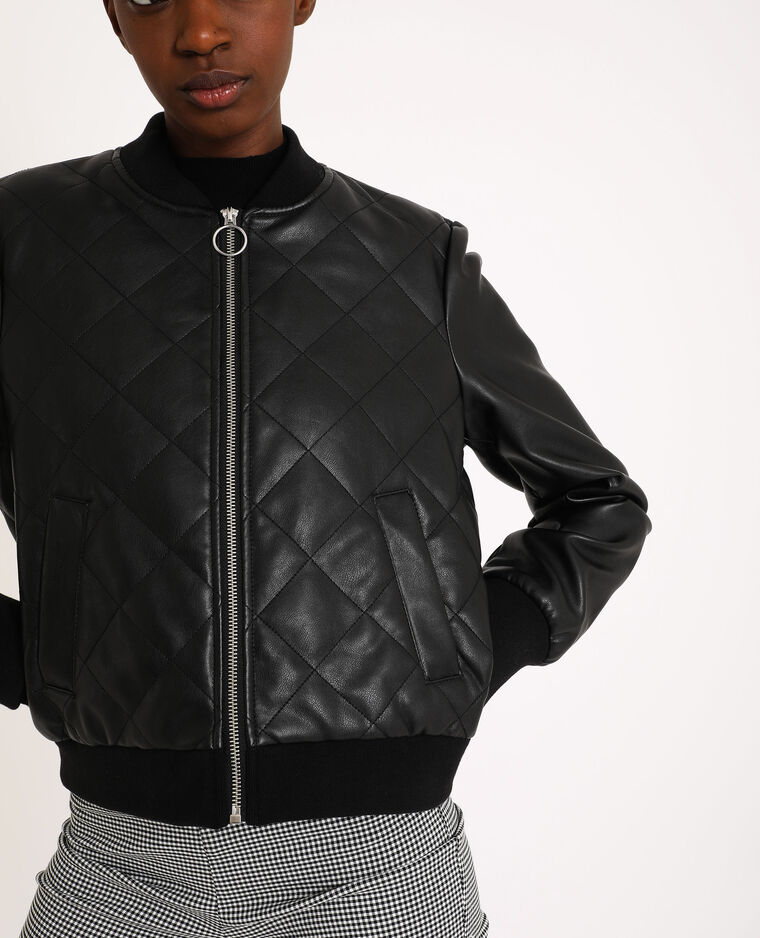 Giacca in similpelle nero - Pimkie