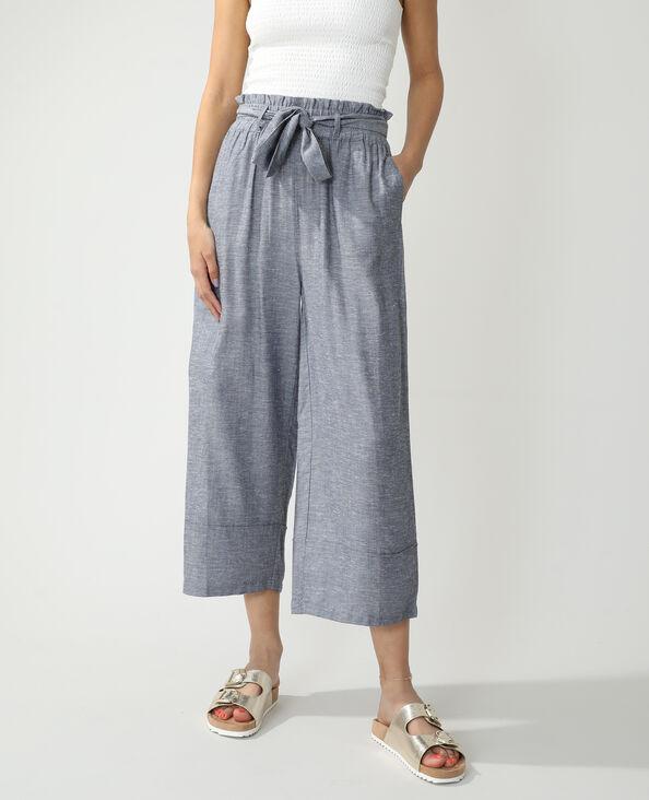 Pantalone wide leg blu - Pimkie
