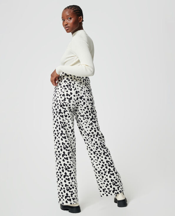 Jeans wide nero - Pimkie