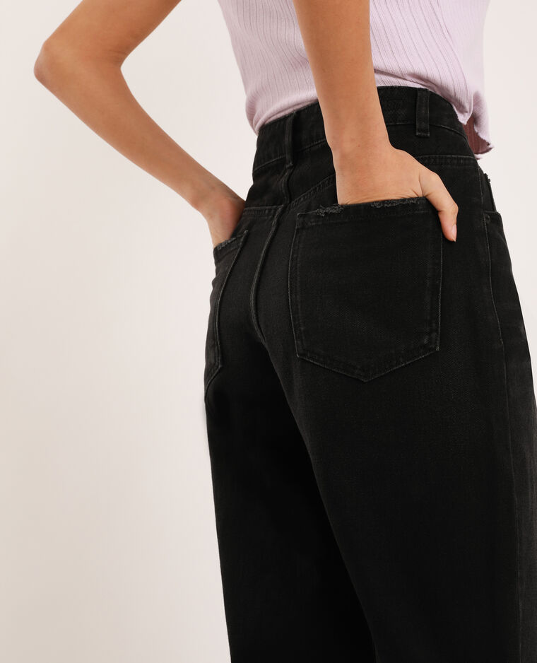 Jeans slouchy nero
