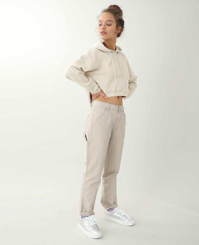 Pantalone dritto marrone - Pimkie