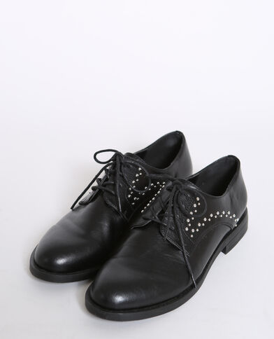 Scarpe derby con i lacci nero