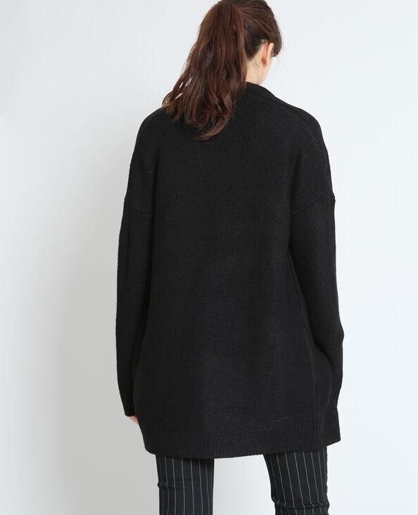 Cardigan caldo nero