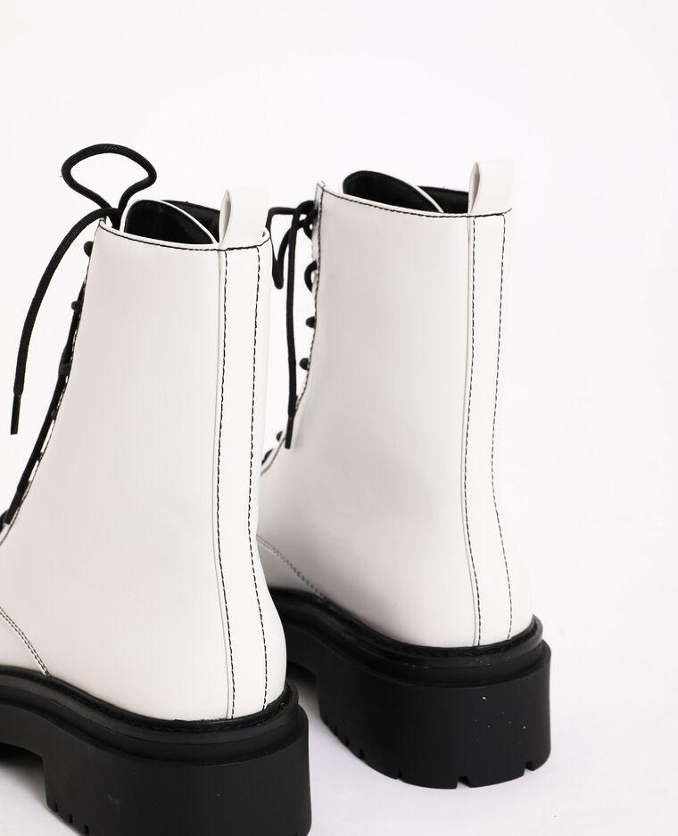 Stivali rock bianco