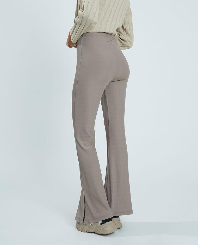 Pantalone flare cammello - Pimkie