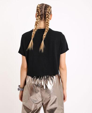 T-shirt corta nero