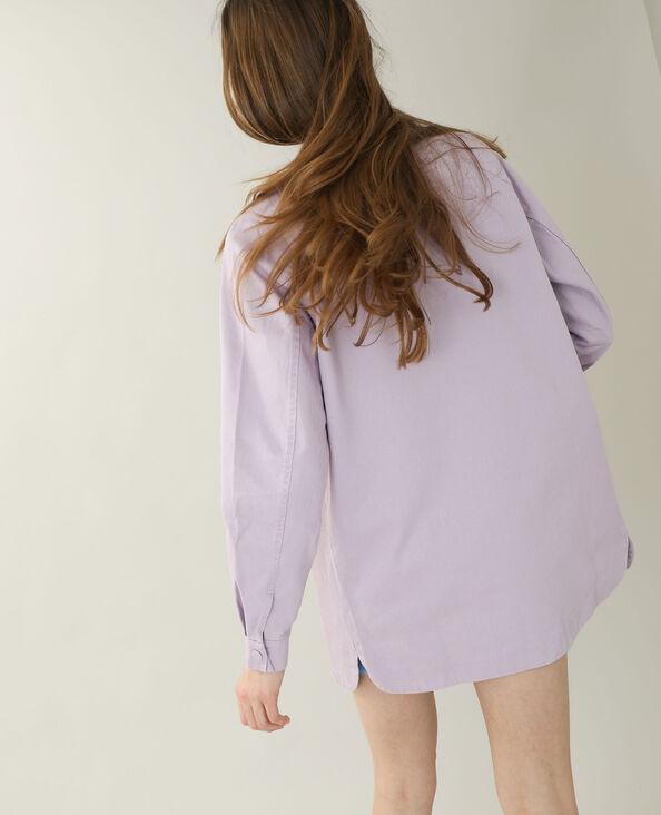 Giacca camicia rosa