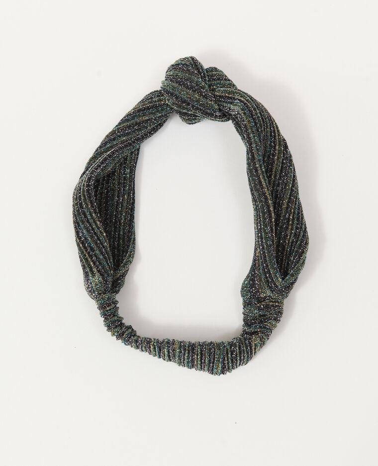 Headband glitter verde