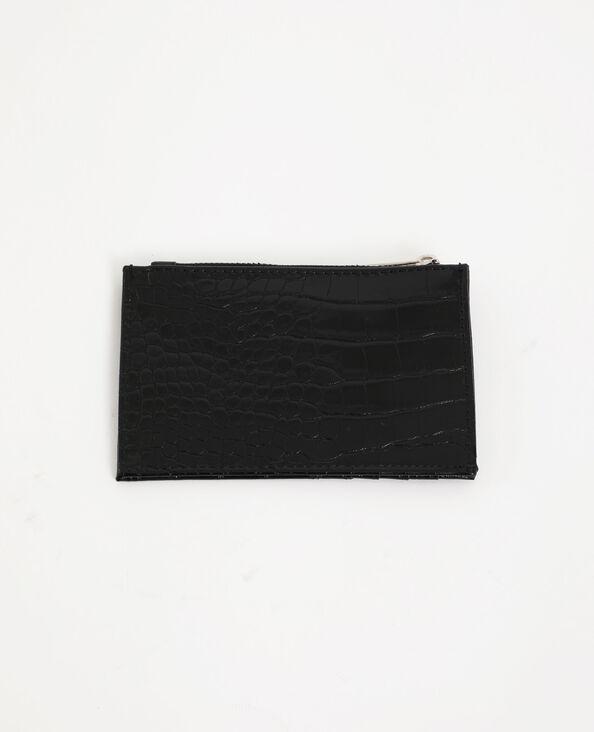 Portacarte nero