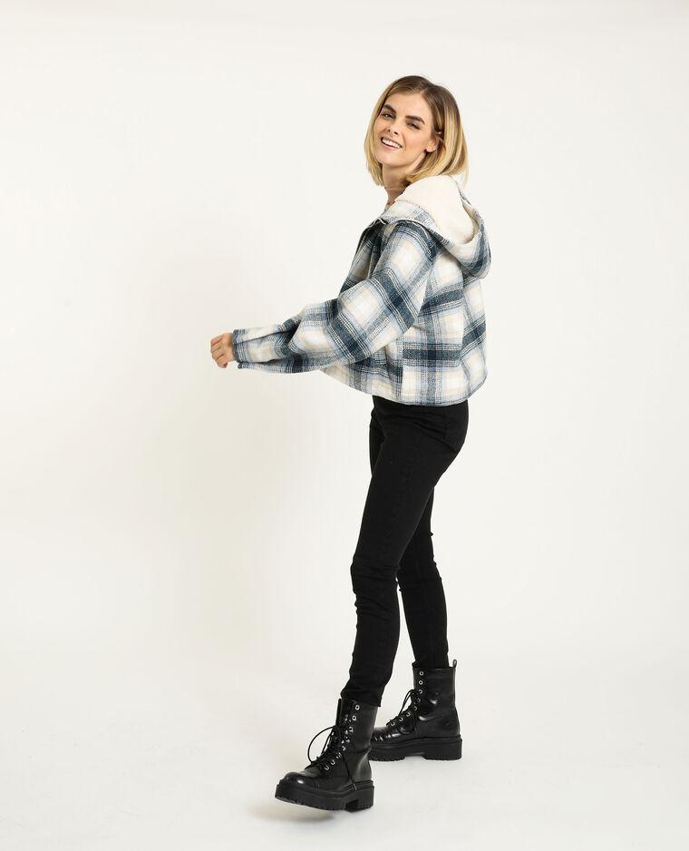 Jeans skinny mid waist nero - Pimkie