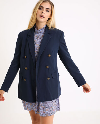 Giacca blazer blu marino