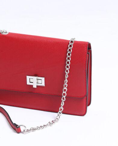 Piccola borsa boxy rosso