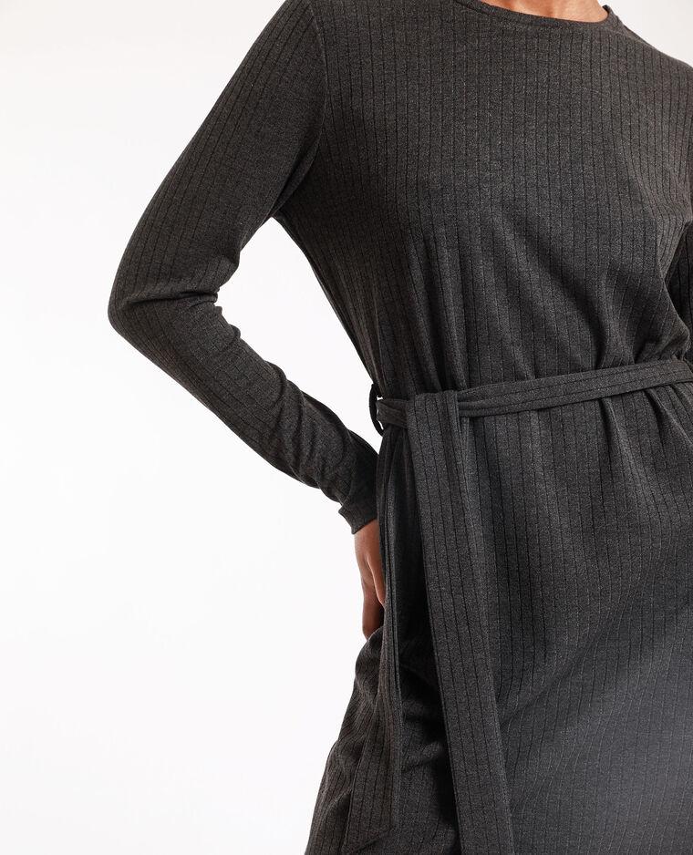 Abito maglia grigio antracite