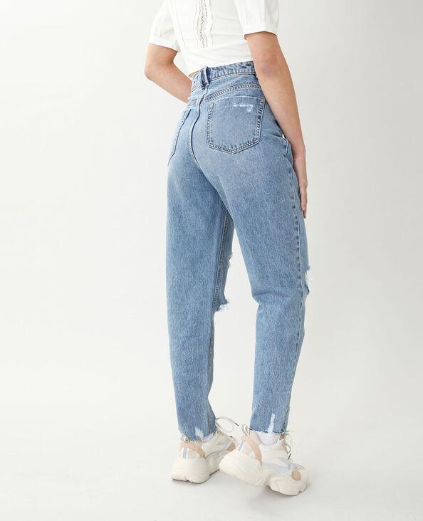 Jeans mom high waist blu denim - Pimkie