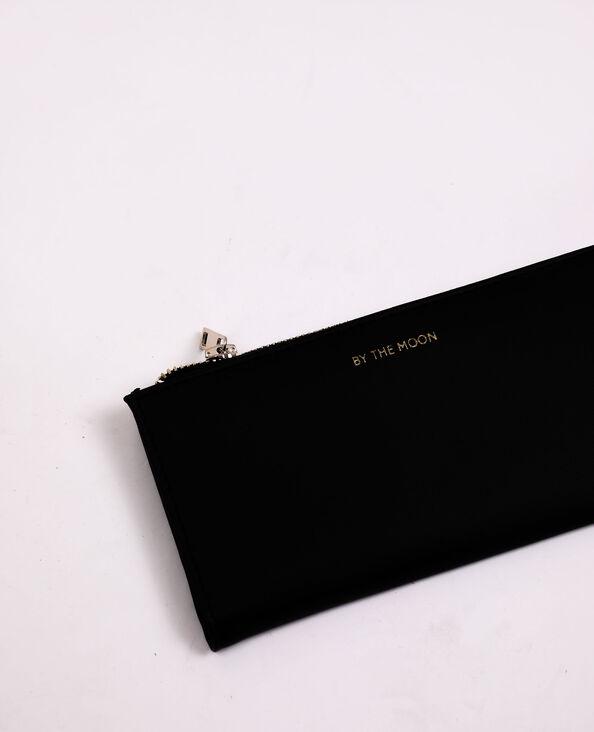 Portafoglio in finta pelle nero - Pimkie