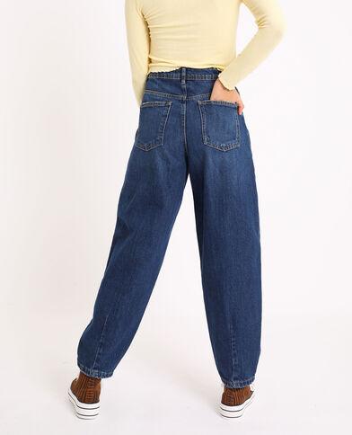 Jeans slouchy blu grezzo
