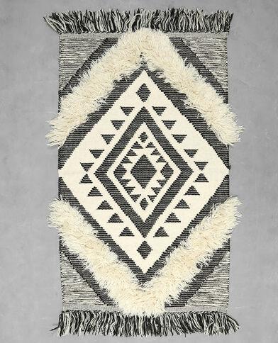 Tappeto in stile berbero grigio