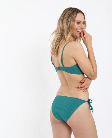 Bikini a Fascia verde