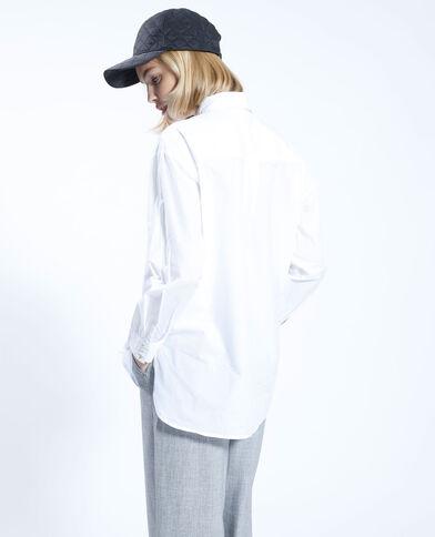 Camicia oversize bianca bianco - Pimkie