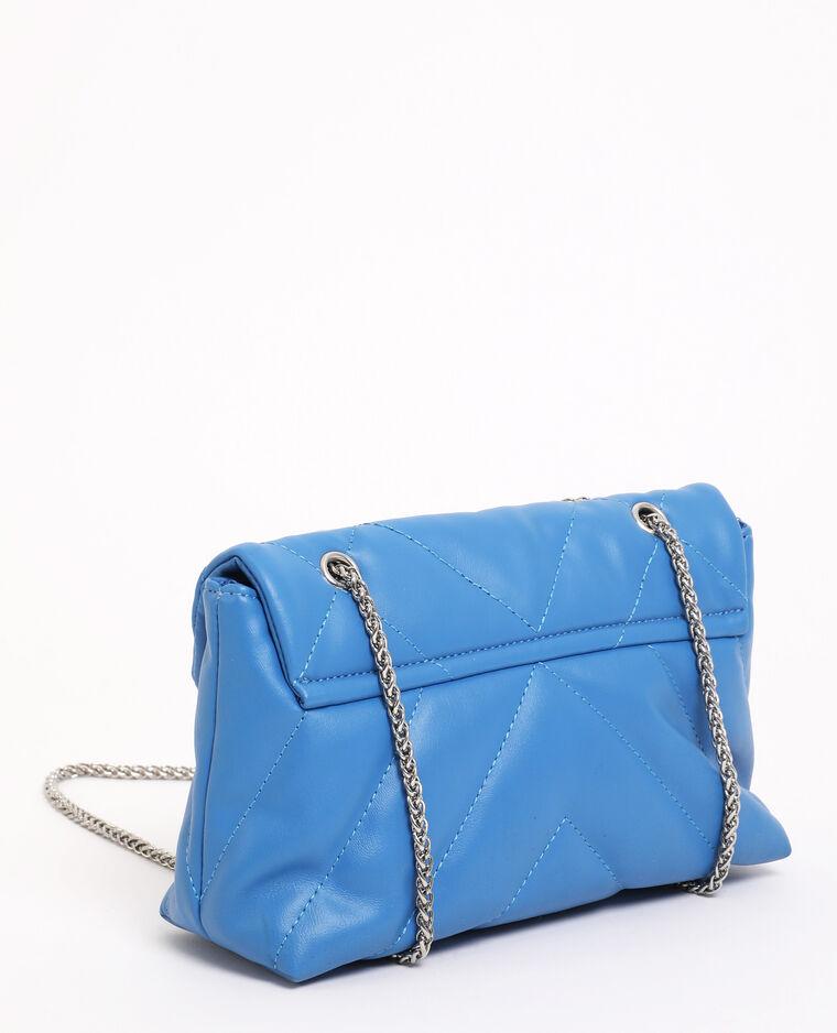 Borsa trapuntata blu