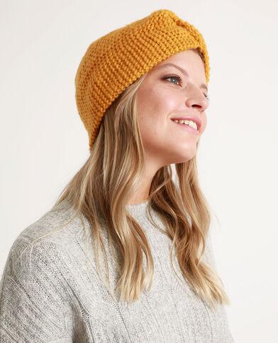 Headband spessa per capelli giallo