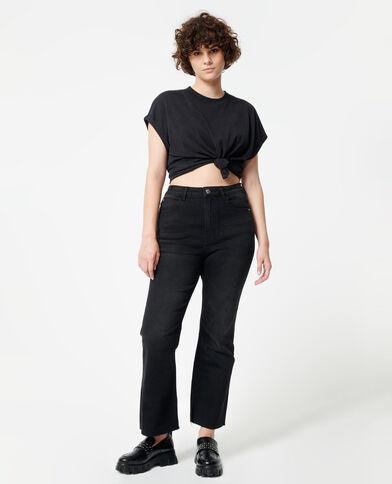 Jeans bootcut nero - Pimkie