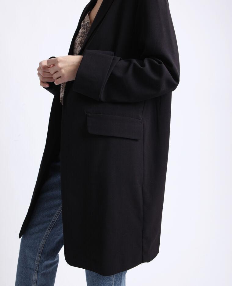 Giacca lunga nero