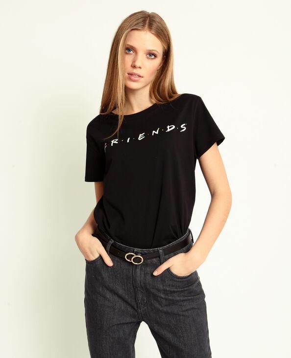 T-shirt FRIENDS nero