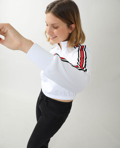 Giacca da jogging bianco - Pimkie