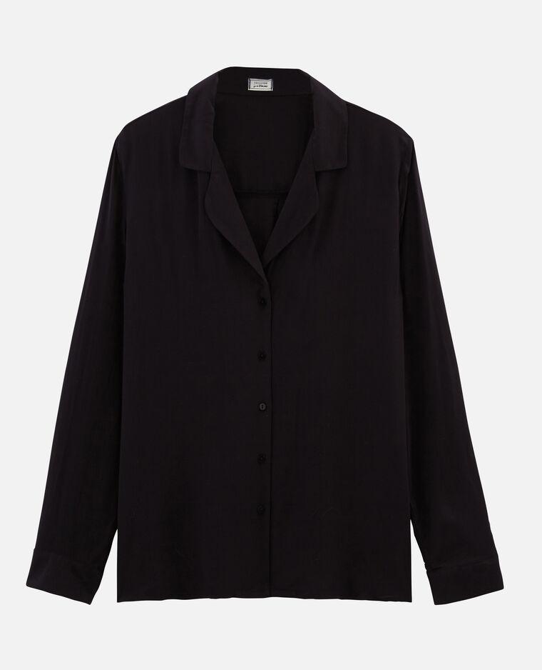 Camicia basic nero