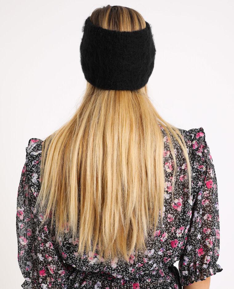 Fascia in maglia nero - Pimkie