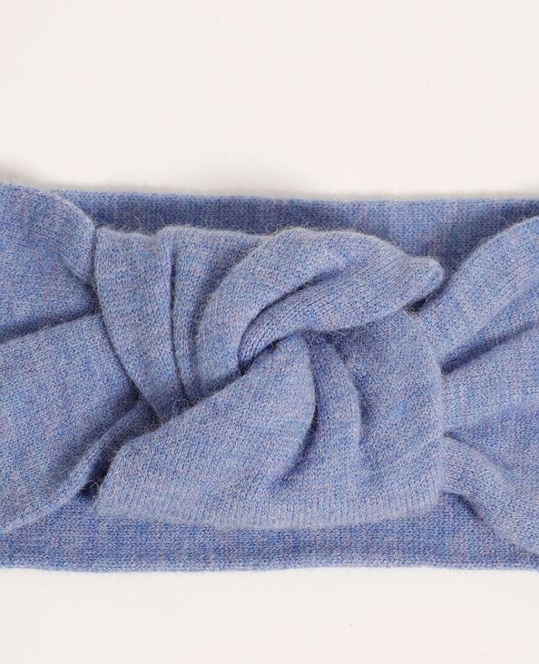 Fascia per capelli all'uncinetto blu cielo - Pimkie