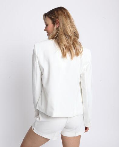 Giacca corta bianco
