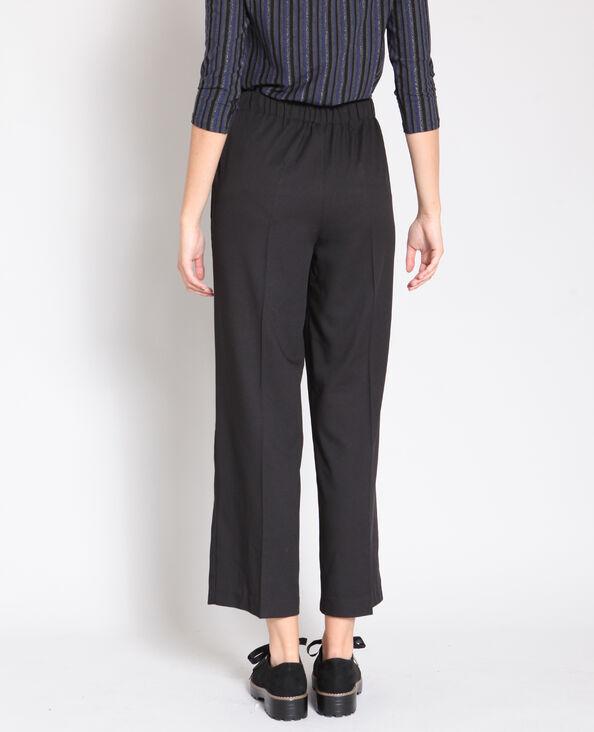Pantalone morbido nero