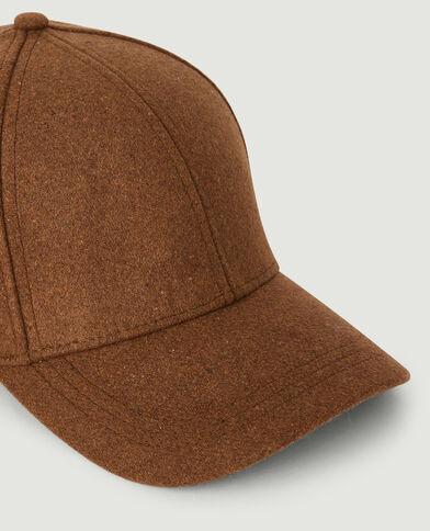Cappellino in feltro caramello - Pimkie