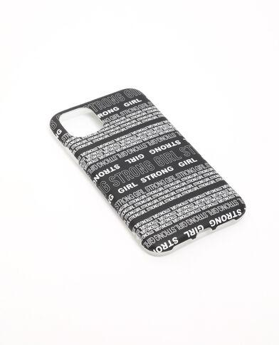 Custodia iPhone XR/11 nero