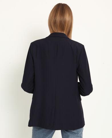 Giacca blazer blu elettrico