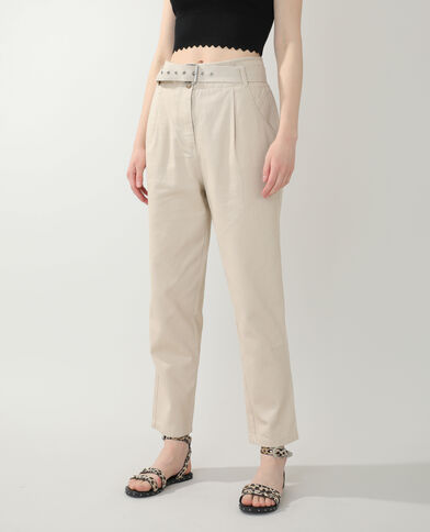 Jeans straight marrone - Pimkie