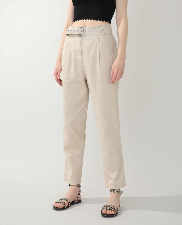 Jeans straight marrone