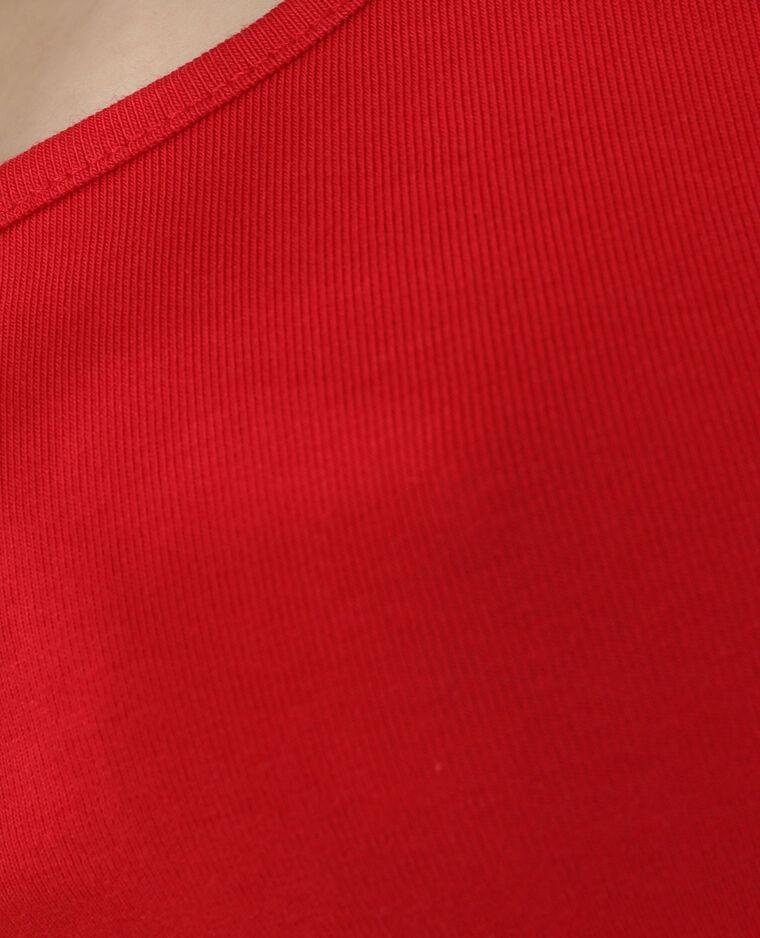 Canotta basic rosso - Pimkie