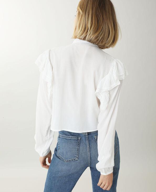 Tunica corta bianco sporco