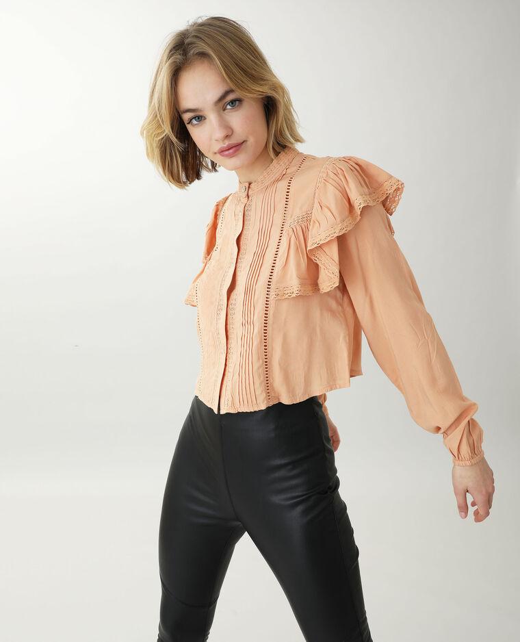 Tunica corta arancio
