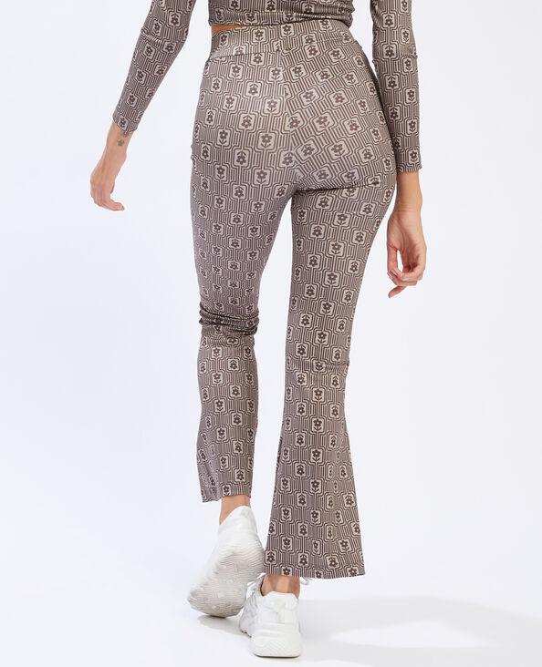 Pantalone flare marrone - Pimkie