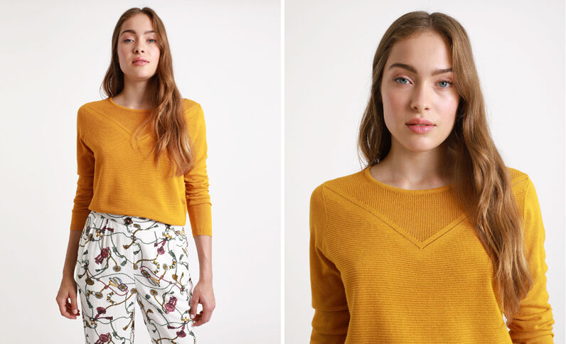 Pull leggero giallo