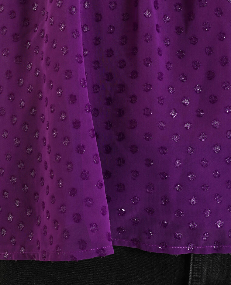 Blusa senza spalle rosa