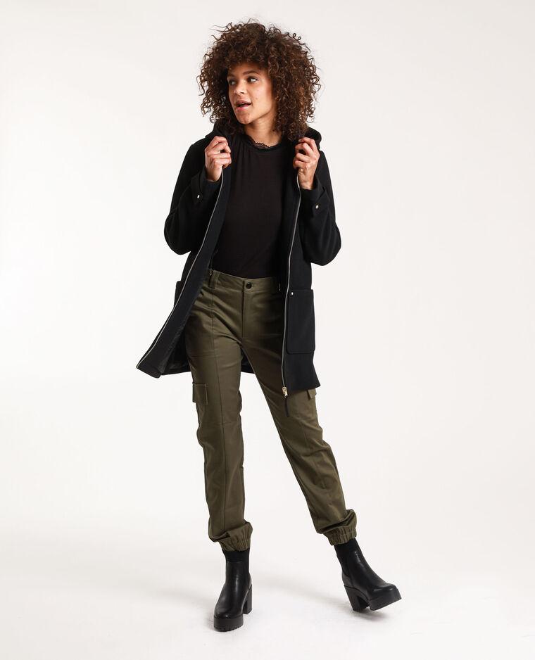 Pantalone cargo verde